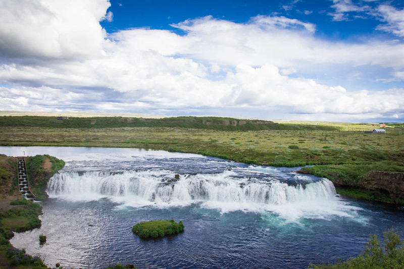 faxi waterfall iceland