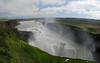 Gullfoss Falls Panorama