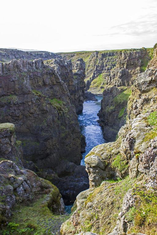 Kolugljufur Gorge and Waterfall - Northwest Iceland