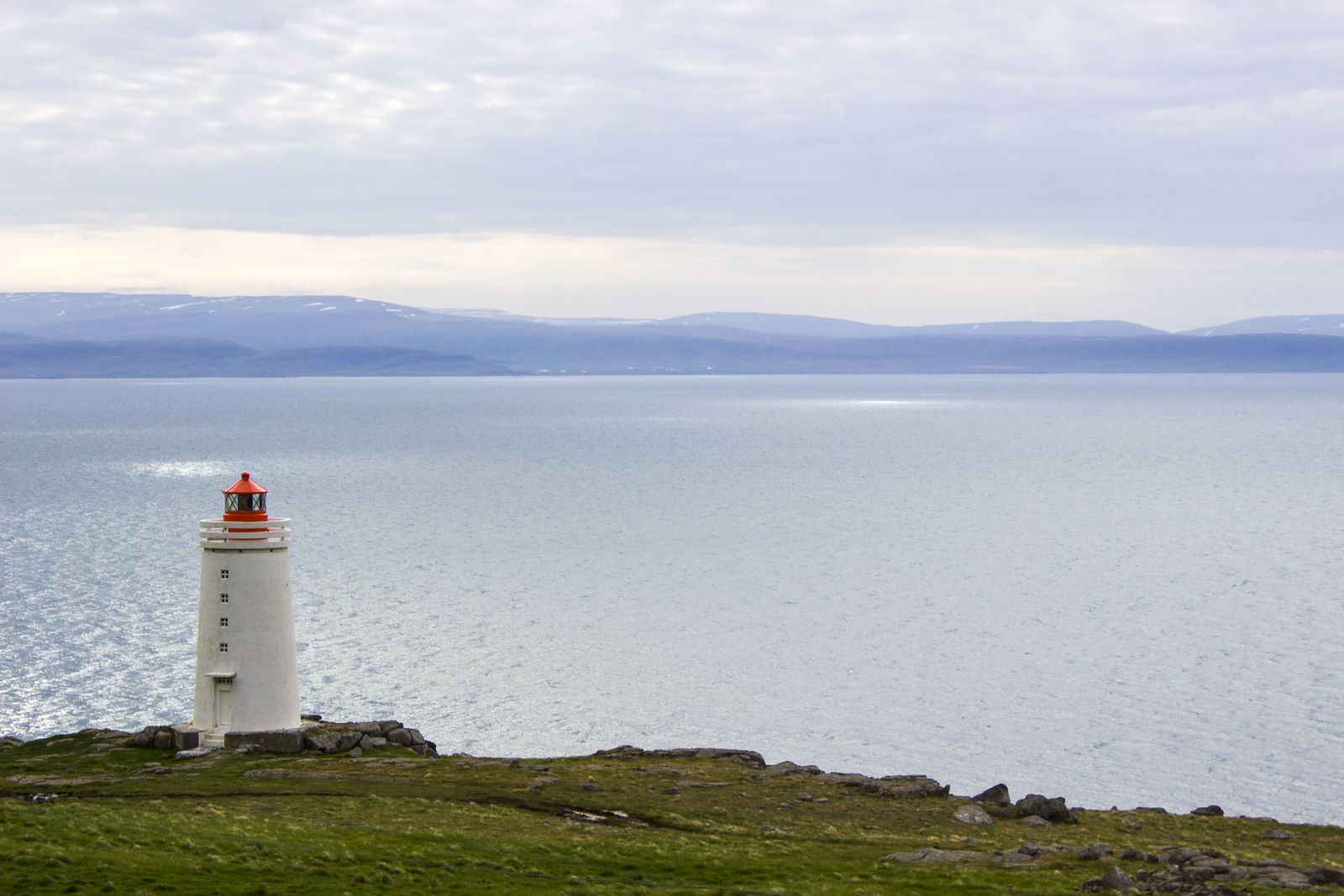 Iceland 2 Week Itinerary - A Complete Travel Guide - Iceland Travel Itinerary - Hvammstangi lighthouse