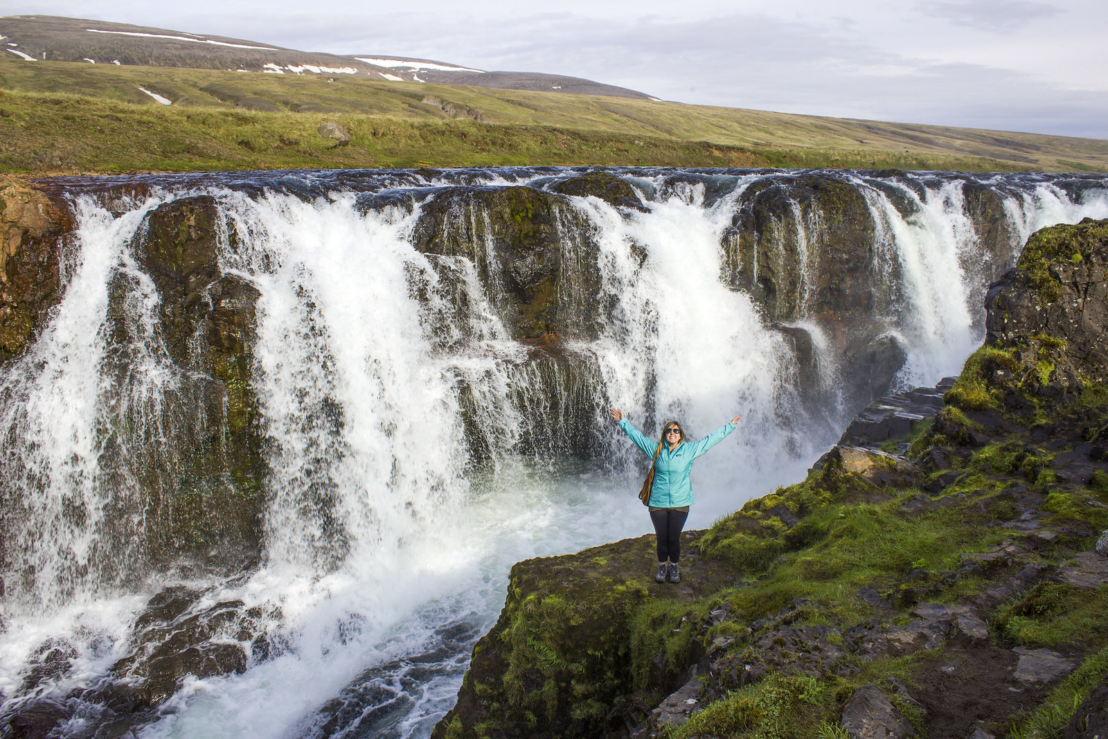 Iceland 2 Week Itinerary - A Complete Travel Guide - Iceland Travel Itinerary - Hvammstangi waterfall