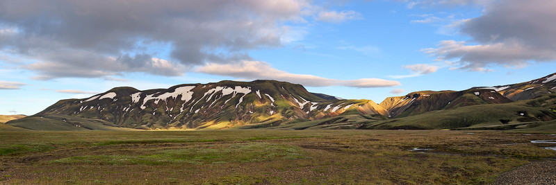 Dappled Mountain Ridge