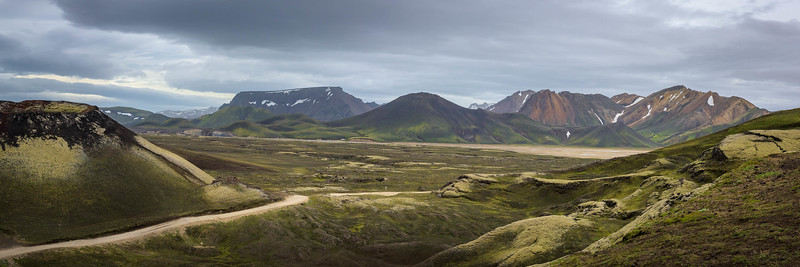 Panorama of Painted Mountains