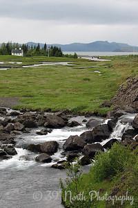 Öxará (Axe River) at Þingvellir