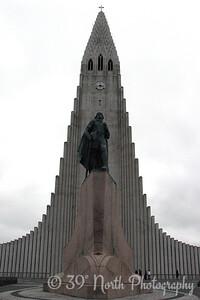 Leifur and Hallgrímskirkja