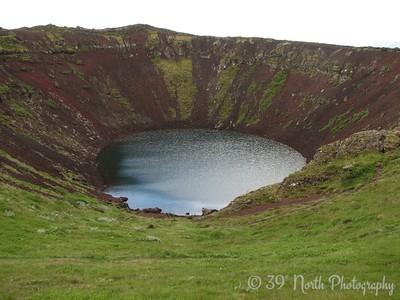 Kerid scoria crater