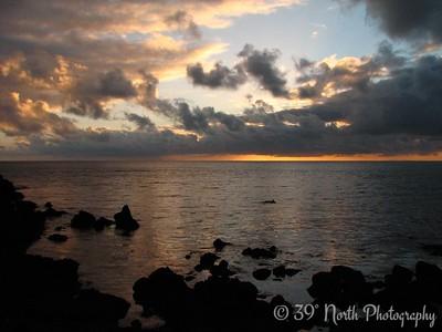 Sunset at Hellissandur