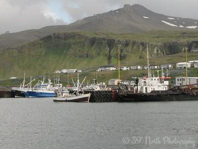 The harbor at Olafsvik