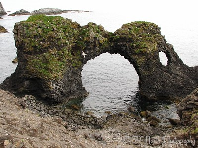 Sea arch at Arnarstapi