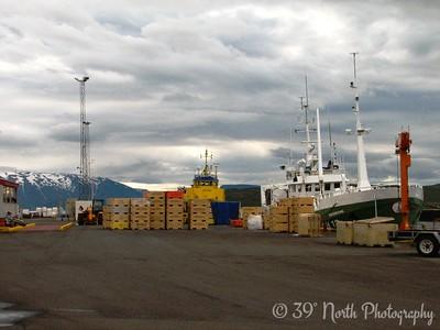 The docks at Dalvik