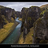 The amazing twisting canyon of Fjardrargljufur in southeastern iceland. Getting here is a short side trip off ring road 1 along route 206.
