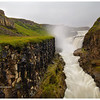 Gullfoss, the golden waterfall - from a slightly different vantage point