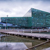 Harpa, the concert hall and performing arts center in Reykjavik.