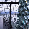 Harpa, interior, looking over the harbor.