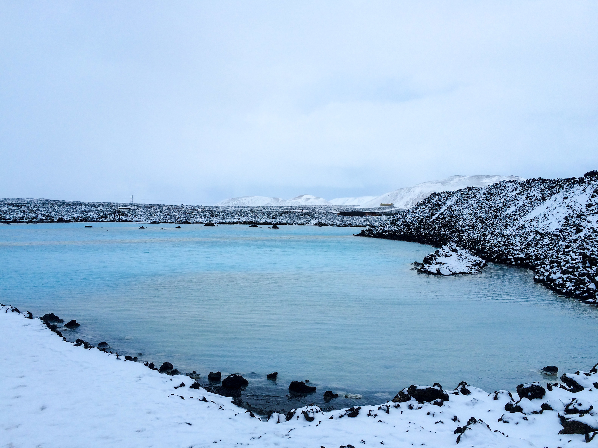iceland solo travel means going to the blue lagoon - of course