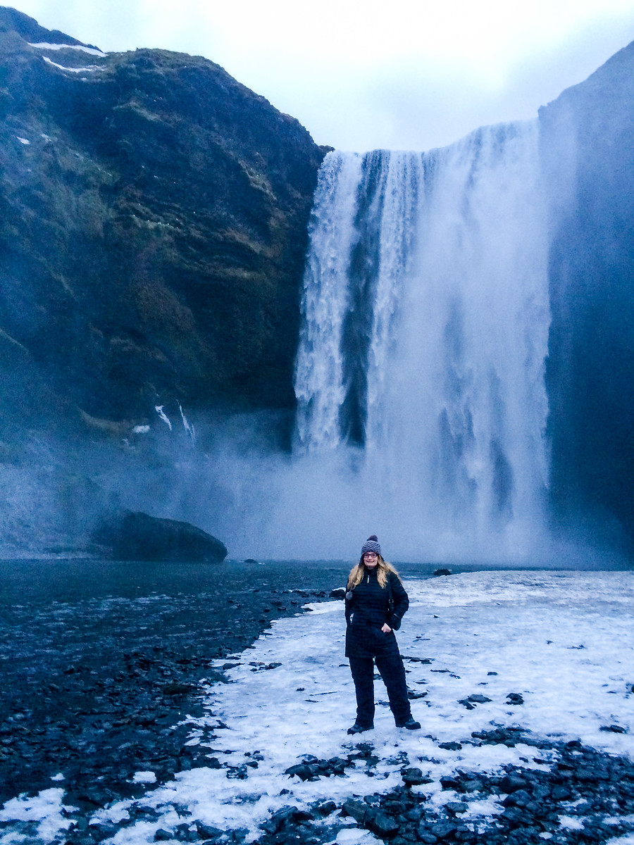 solo travel to iceland means see tons of waterfalls