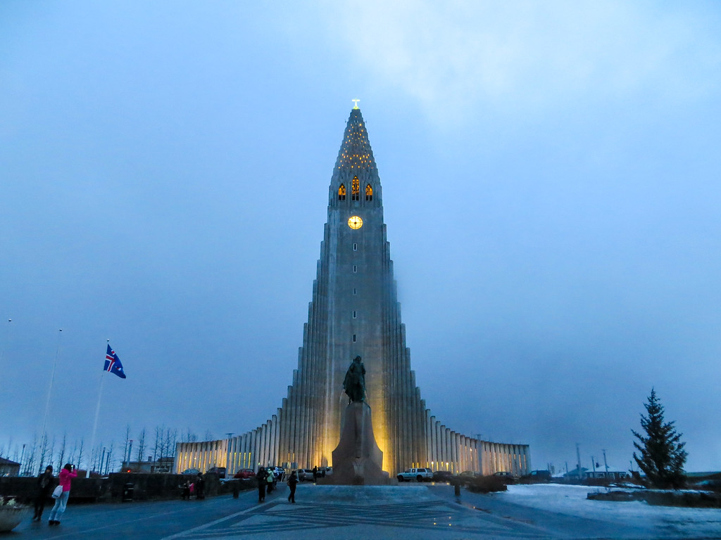 winter in reykjavik is so gorgeous