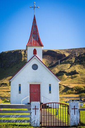 Reyniskirkja Church at Reynisfjara