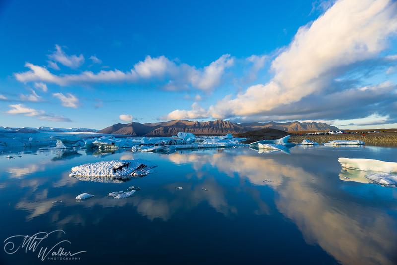 Jökulsárlón Iceberg Lagoon Reflections
