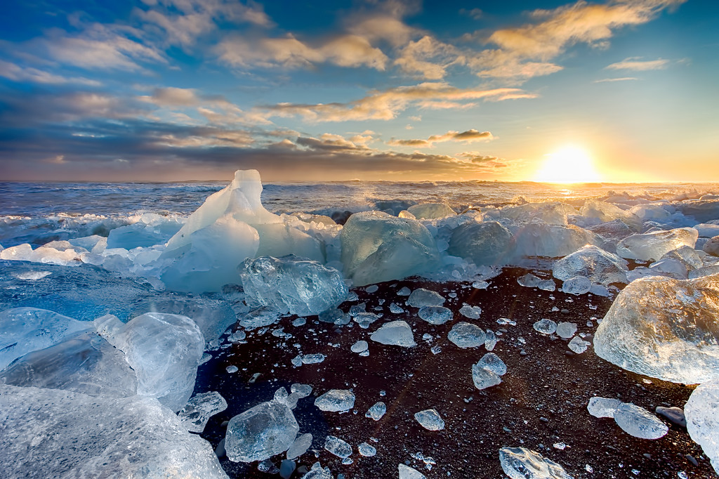 Ice Beach is Full