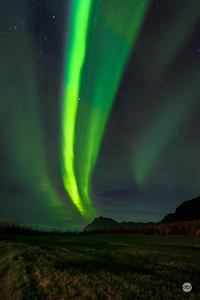 Overhead aurora