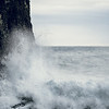 Waves breaking on Valahnjúkur