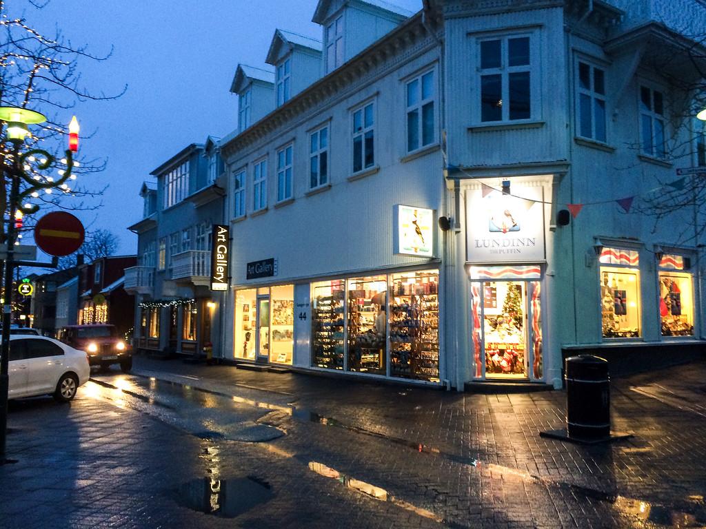 Winter in Reykjavik