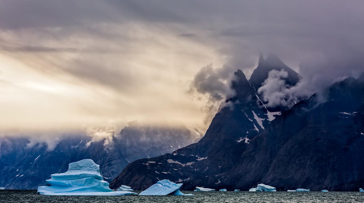 Stormy Greenland