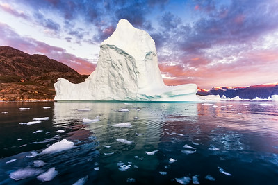 Ice City Sunset Greenland!