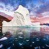 Ice City Sunset Greenland!
