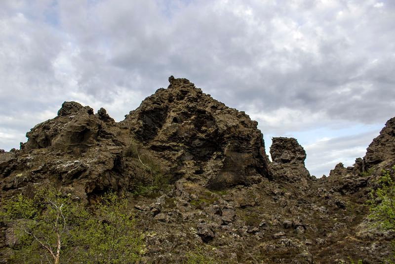 Dimmuborgir Lava Field