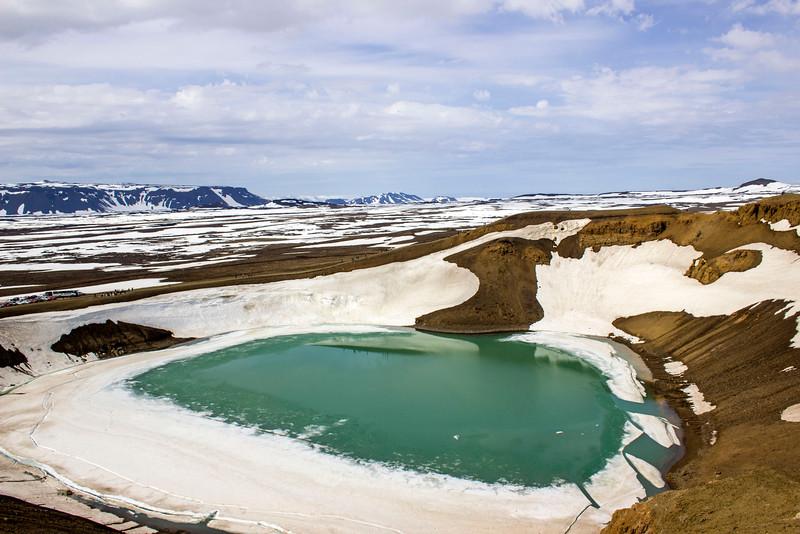 Krafla and Viti Crater