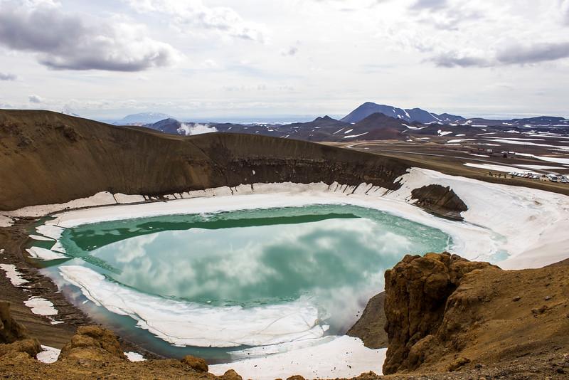 Viti Crater, Krafla