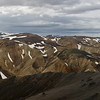 Panorama view from Bláhnúkur