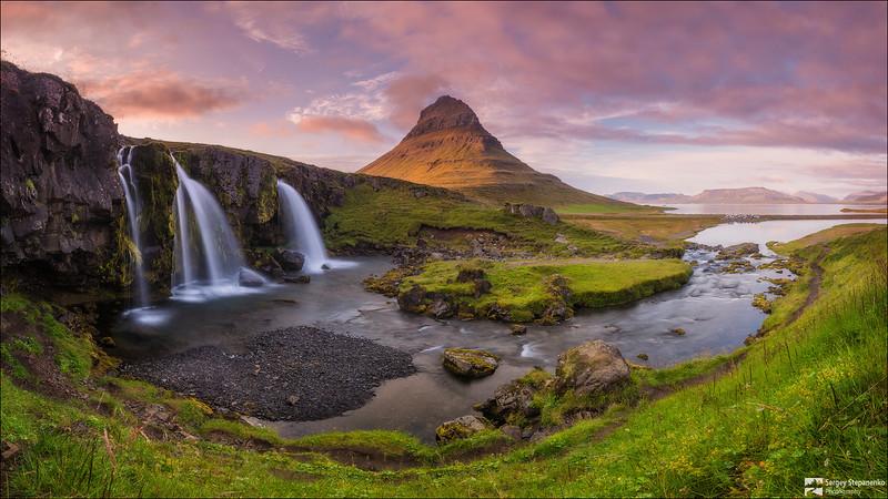 Исландский лорд и его свита