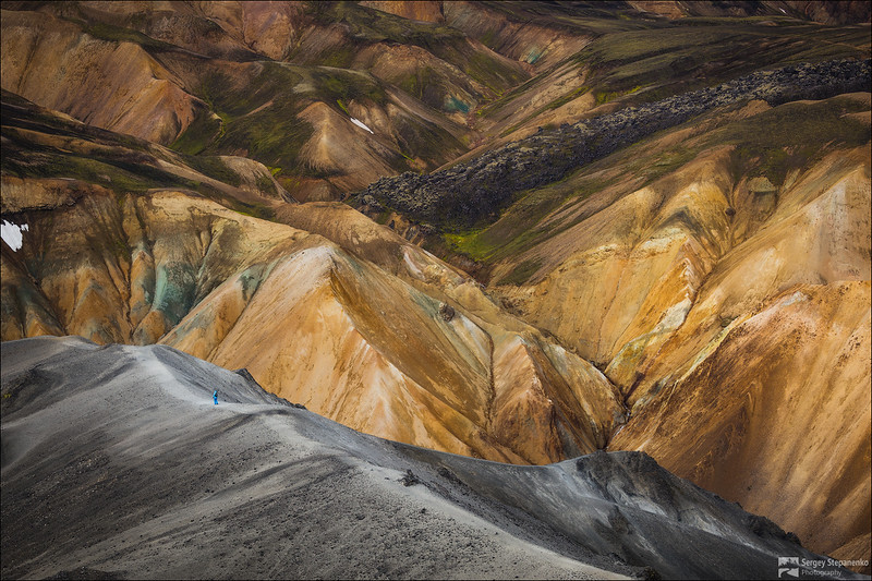 On the planet Landmannalaugar