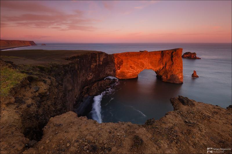 The red-hot arch | Раскалённая арка