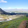 Climbing from Þórsmörk