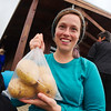 No more Mr. Noodles! Potatoes donated to us by the local restaurant at Skógar