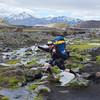Coolest hiker on the Laugavegur Trek