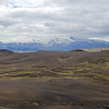 Descent towards Emstrur with Eyjafjallajökull on the far left horizon