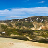 Day 1: Another panoramic of Landmannalaugar area.