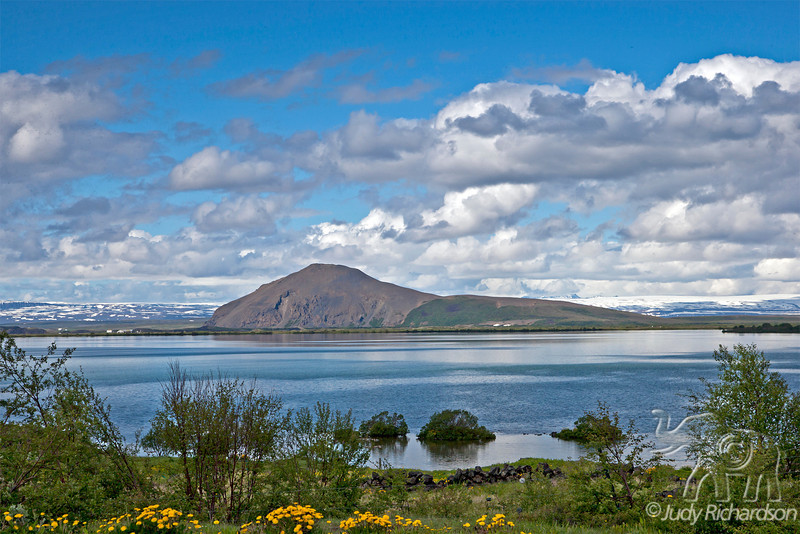 Mývatn Lake view