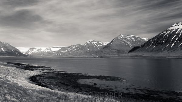 Mountains along Dyrafjördur