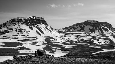 Mountains along Rte 60