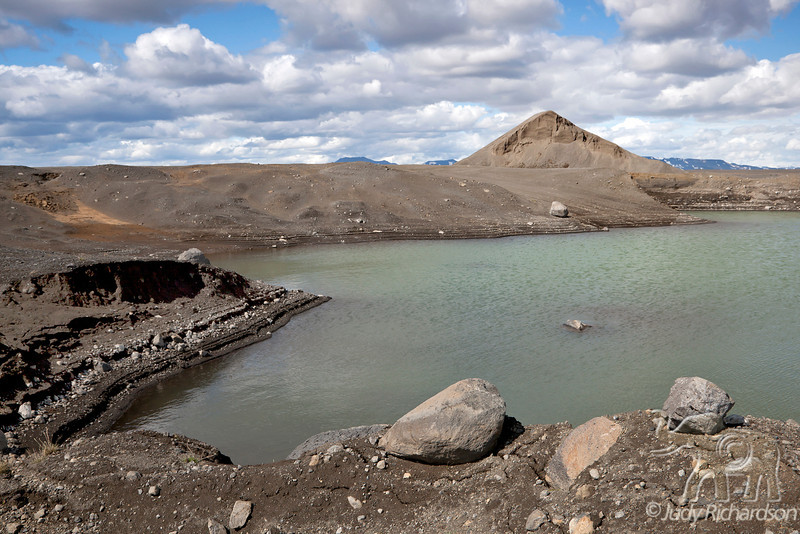 Glacial Pond ~ North Iceland Scenery