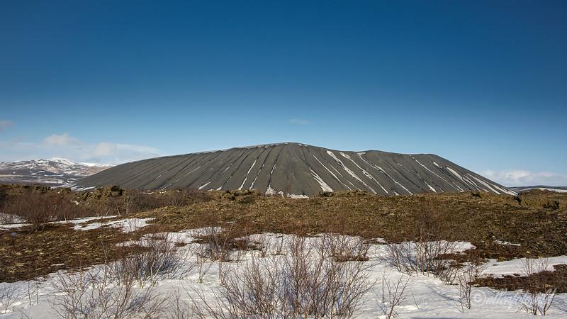 Hverfjall ring volcano, Hverir, Iceland