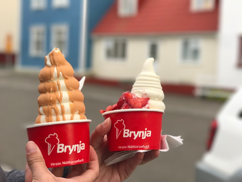 brynja ice cream iceland