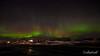 Northern lights and stars, Myvatn, Northern Iceland