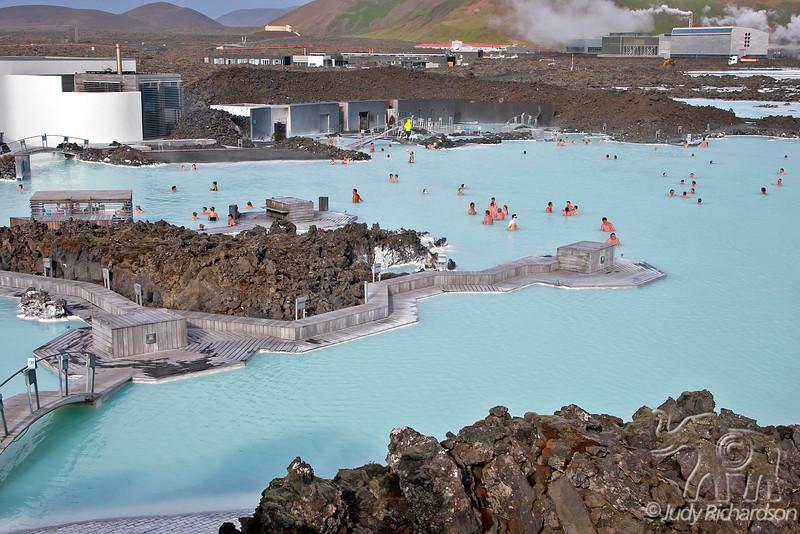 The Blue Lagoon (Icelandic: Bláa lónið) geothermal spa